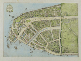 The Castello Plan, New Amsterdam in 1660