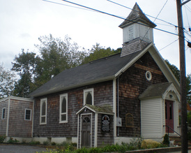 Current view of the St. David AME Zion Church, Eastville, Sag Harbor