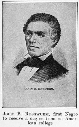 Portrait of John B. Russwurm