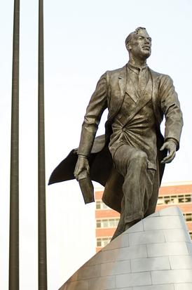 Statue of Adam Clayton Powell