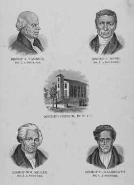 Founders of the AME Zion Church in New York