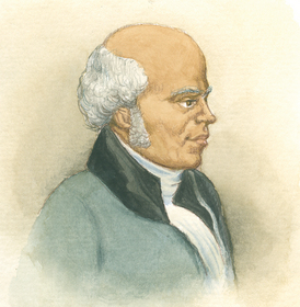 Illustration of James Varick