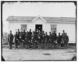 Rikers Island - Black soldiers, Civil War, training