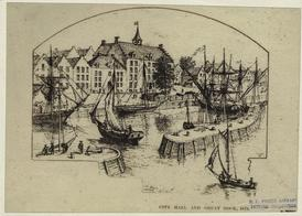 City Hall and Great Dock, 1679