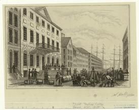 Tontine Coffee House, N.Y.C., 1820