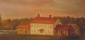 Old Mastic House at the William Floyd Estate, ca. 1792